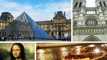 Best of Paris Tour: Skip-the-Line Louvre Entry, Notre Dame and Seine River Cruise, Paris, Full-day...