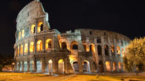 Colosseum and Ancient Rome Tour by Night, Rome, Private Sightseeing Tours