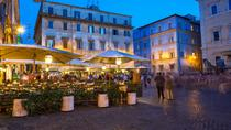 Evening Trastevere Walking Tour and Villa Dinner, Rome