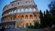 Viator VIP: Exclusive Rome Rooftop Dinner and Colosseum Night Tour Including Underground Chambers,...
