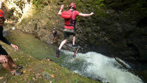 Gravity Falls Cliff Jumping and Waterfall Rappel, La Fortuna, Hiking & Camping