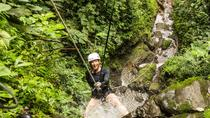 Rappel and Rafting Combo Tour, La Fortuna, Climbing