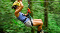 Zip Lining Adventure from Manuel Antonio, Quepos, 4WD, ATV & Off-Road Tours