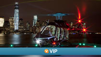 Viator VIP: NYC Night Helicopter Flight and Statue of Liberty Cruise, New York City, Helicopter ...