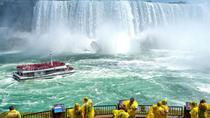 Magnificent Tour of Niagara Falls with Cruise Journey Behind the falls and Lunch, Toronto, Day ...