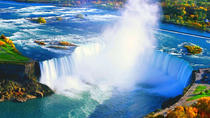 Private Tour of Niagara Falls with Hornblower Cruise, Journey Behind the Falls, Skylon Tower, and ...