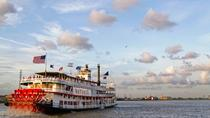 Steamboat Natchez Jazz Dinner Cruise, New Orleans, Sejlture med middag
