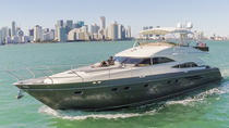 65' Princess Boat Charter with Crew, Miami, Boat Rental