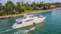 88' Ferretti Boat Rental with Jacuzzi and Jet Ski in Miami, Miami, Boat Rental