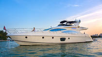4 Hour Private Charter: 68' Azimut Fly Bridge Luxury Yacht, Miami, Surfing Lessons