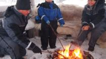 Family Snowmobile Safari from Santa Claus Village including Campfire Picnic, Rovaniemi, Ski & Snow