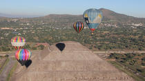 Hot Air Ballooning in Teotihuacan, Mexico City, Balloon Rides