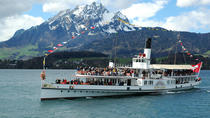 Golden Round Trip with Lake Cruise to Mount Pilatus from Lucerne, Lucerne, Attraction Tickets
