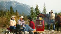 Covered Wagon or Horseback Ride in Banff with Western Cookout, Banff