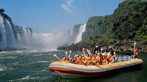 Iguassu Falls Brazilian-Side Day Tour with Safari Boat Ride, Foz do Iguacu, Overnight Tours