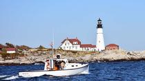 Private Lighthouse Sightseeing Charter on a Vintage Lobster Boat, Portland, Sunset Cruises