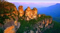 Tour privato: gita di un giorno alle Blue Mountains da Sydney incluso il Featherdale Wildlife Park, ...
