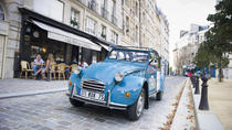 One-Way Private Transfer from Paris Railway Stations by Citroen 2CV, Paris