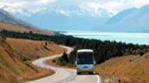Excursion de Christchurch à Queenstown en passant par le Mont Cook, aller simple, ...