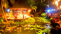 Spectacular Over Water Night Show with Buffet Dinner at Muri Beach, Rarotonga, Dinner Theater