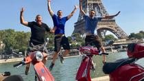 3.5-Hour Private Paris Guided Vespa Tour with Gourmet Break, Paris, Night Tours
