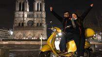 Paris by Night Vespa Scooter Private Sightseeing Tour with Guide, Paris, Vespa, Scooter & Moped...