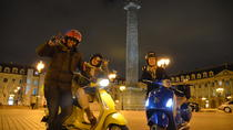 Private Paris by Night Vespa Tour, Paris, Vespa, Scooter & Moped Tours