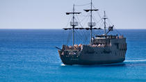 Black Pearl Pirate Ship from Ayia Napa Harbor, Famagusta