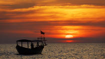 Small Group Sunset Cruise on Tonle Sap Lake with Cambodian drinks and Canape, Siem Reap, Sunset...