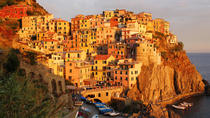 Cinque Terre sunset boat tour with aperitivo in Vernazza, La Spezia, Day Cruises
