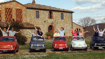 Fiat 500 Vintage Tour on the Tuscan hills with a local meal, Florence, 4WD, ATV & Off-Road Tours