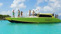Three Island Full-Day Boat Trip from St Maarten including Lunch, Philipsburg, Day Cruises