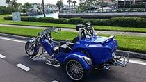 Saint Petersburg and Clearwater Beaches Tour by Motorbike , Tampa, Motorcycle Tours