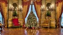 Newport Mansions at Christmas: The Breakers and Marble House, Boston, null