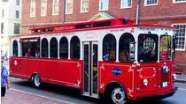 Tour di Boston sul Beantown Trolley e crociera nel porto, Boston, Tour in tram