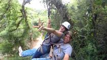 5 in 1 Zip Line: Samana Zip Line, Waterfalls, Beach, Culture Tasting and Lunch, Samaná, Ziplines