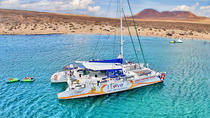 Luxury Catamaran Cruise Day Trip to La Graciosa, Lanzarote, Brunch Cruises