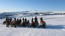 Snowmobiling Experience on Mýrdalsjökull Glacier, South Iceland