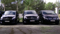 Ibiza Mercedes Benz Van with English Speaking Chauffeur, イビサ島