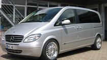 Santiago de Compostela Departure Private Transfer to SCQ Airport in 6 Seater Van, Santiago de...