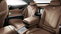 Stockholm Airport Arlanda ARN Arrival Private Transfer to Stockholm City in Luxury Car
