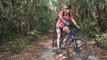 Beginners Mountain Biking Mayan Jungle Tour and Cenote Swimming, Playa del Carmen, Bike & Mountain ...