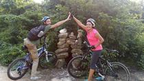Mayan Jungle Mountain Bike Tour for Beginners with Cenote Swim, Playa del Carmen