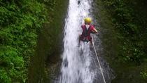 canyoning with horseback riding in waterfalls near La Fortuna, La Fortuna, Climbing