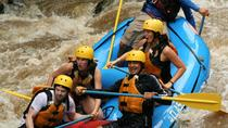 Rafting level III with canyoning (rappel in waterfalls) and tarzan swing near La Fortuna, La ...