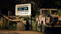 Night Safari Entrance with Private Transfer from Singapore, Singapore, Private Sightseeing Tours