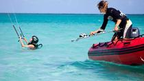 Kitesurfing Test Lesson in Nonsuch Bay, Antigua