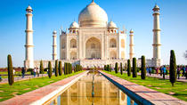 Agra Taj Mahal and Agra Fort Private Day Trip by Rail from Delhi, New Delhi, Day Trips
