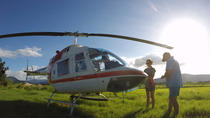 Full-Day Cairns Helicopter Tour: The Outback, Undara Lava Tubes, Waterfalls and Great Barrier Reef, ...