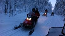 Easy Snowmobile Safari for Beginners in Ruka, Lapland, Ski & Snow